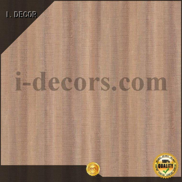 brown craft paper waterproof melamine decorative paper I.DECOR Brand