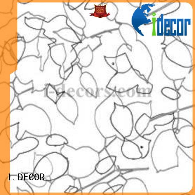 flower design OEM melamine impregnated paper I.DECOR