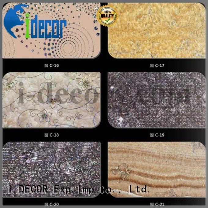 particle board with melamine finish supplier for restaurant I.DECOR