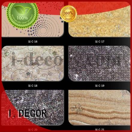 Hot decor finish foil paper texture paper I.DECOR Brand