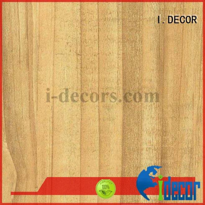 Hot decorative quality printing paper pine grain I.DECOR Brand
