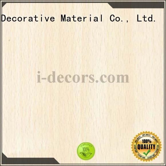 grain wood foil paper I.DECOR Decorative Material wood laminate sheets