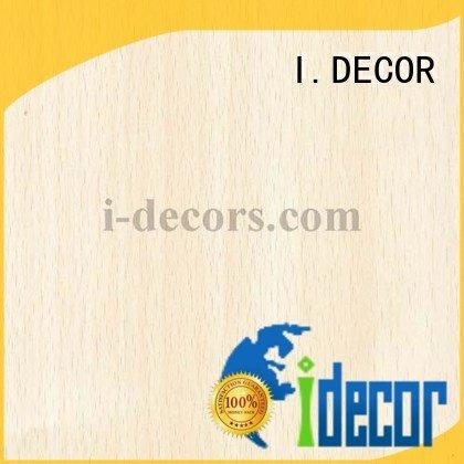 wood laminate sheets 78164 beech wood foil paper I.DECOR Brand
