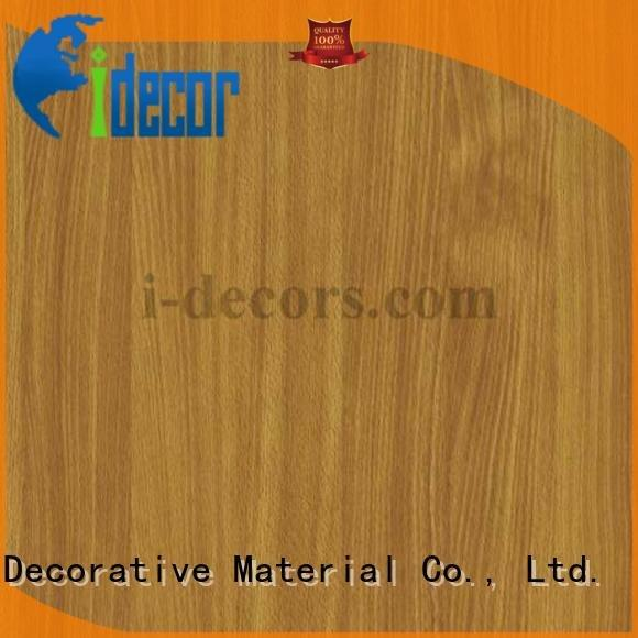 I.DECOR Decorative Material Brand grain 40801 decorative wood laminate sheets