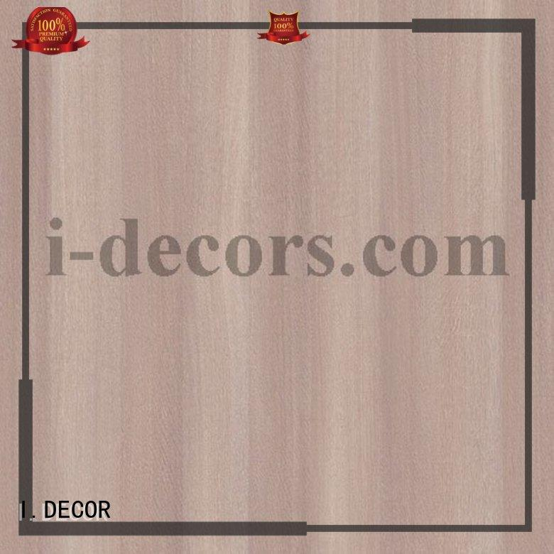 waterproof Custom mdf chipboard melamine decorative paper I.DECOR surface