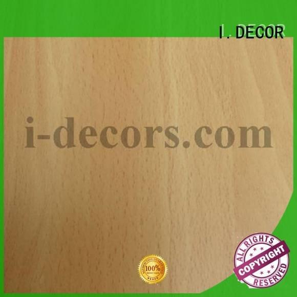 I.DECOR Brand chestnut design 48037 melamine impregnated paper cylinder
