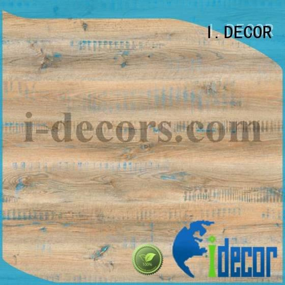 Hot brown craft paper grain melamine decorative paper laminated I.DECOR