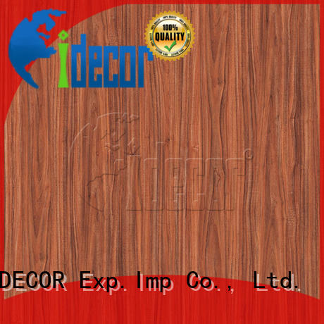 I.DECOR professional wood finish paper series for drawing room