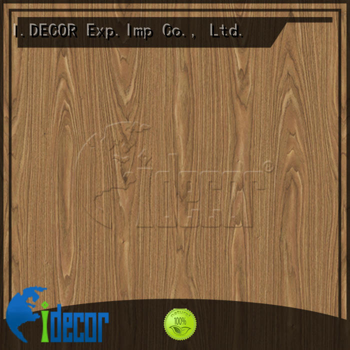 I.DECOR wood grain digital paper directly sale for dining room