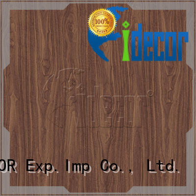 I.DECOR wood grain texture paper customized for drawing room