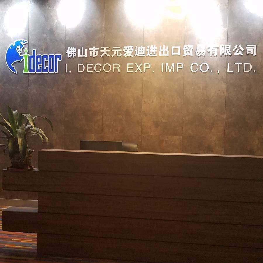I.DECOR Decorative Material Brand melamine decorative panel plywood panels panel