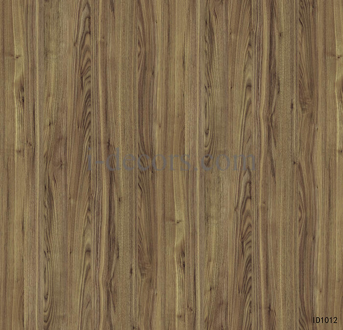 ID1012 walnut decor paper 4 feet with imported ink