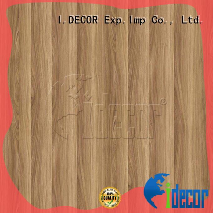 I.DECOR wood laminate paper series for master room