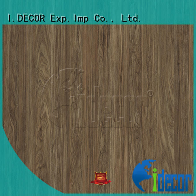 I.DECOR professional wood pattern paper customized for guest room