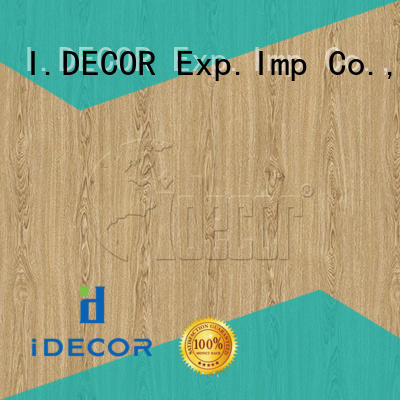 I.DECOR wood grain pattern paper from China for dining room