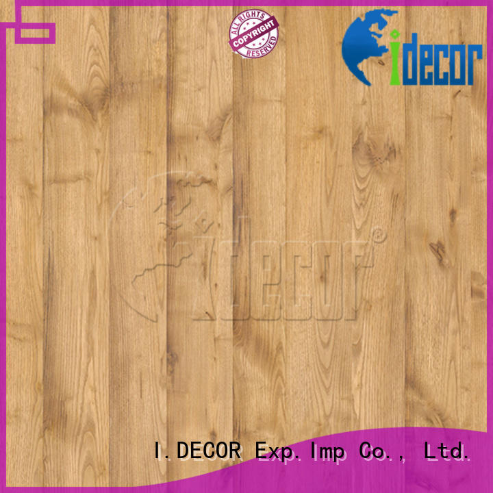 I.DECOR wood background paper customized for dining room