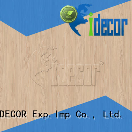 I.DECOR wood effect craft paper directly sale for study room