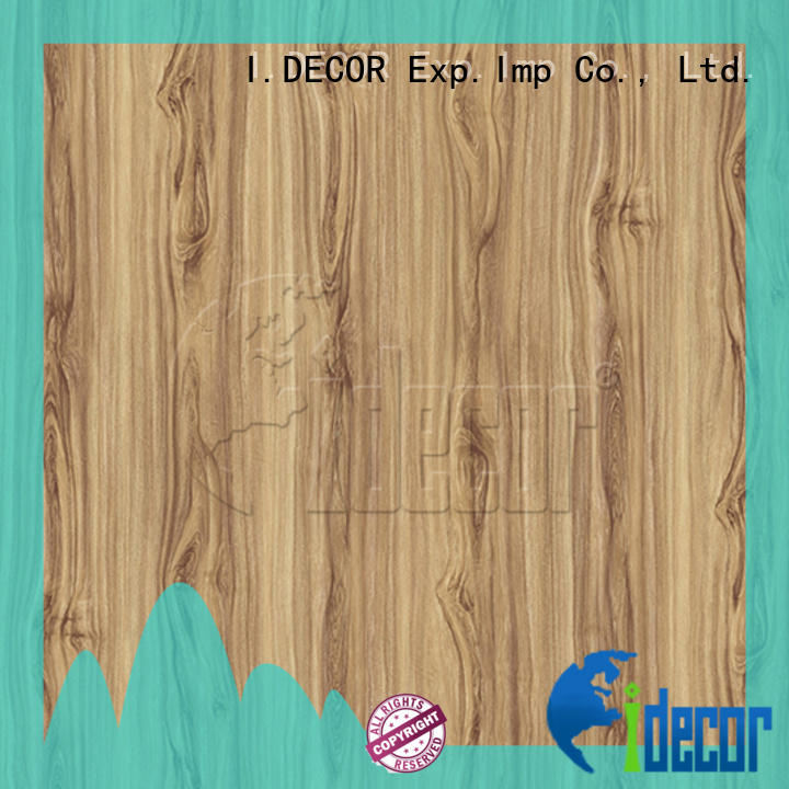 I.DECOR wood pattern paper directly sale for study room