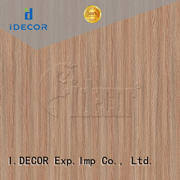 I.DECOR stable wood grain texture paper customized for guest room