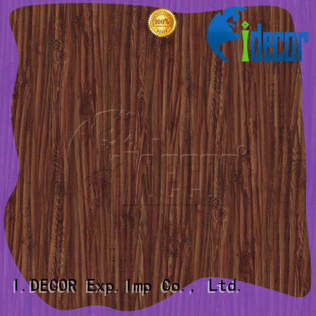 I.DECOR sturdy wood effect paper from China for master room