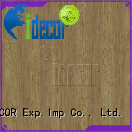I.DECOR stable wood grain laminate paper series for master room