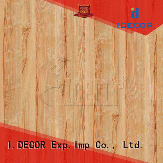 I.DECOR professional faux wood grain paper directly sale for dining room