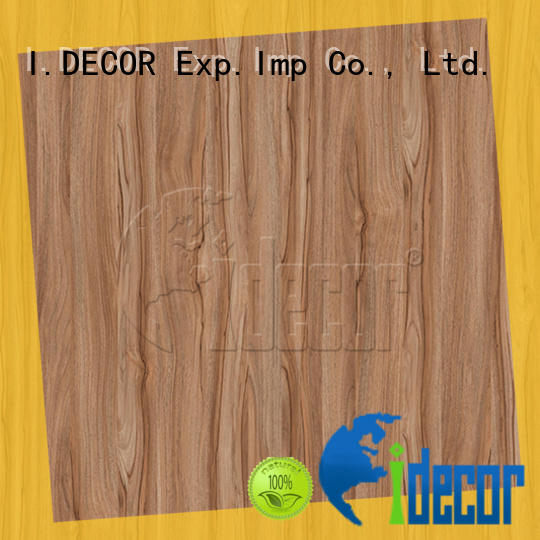 real wood effect on paper from China for drawing room
