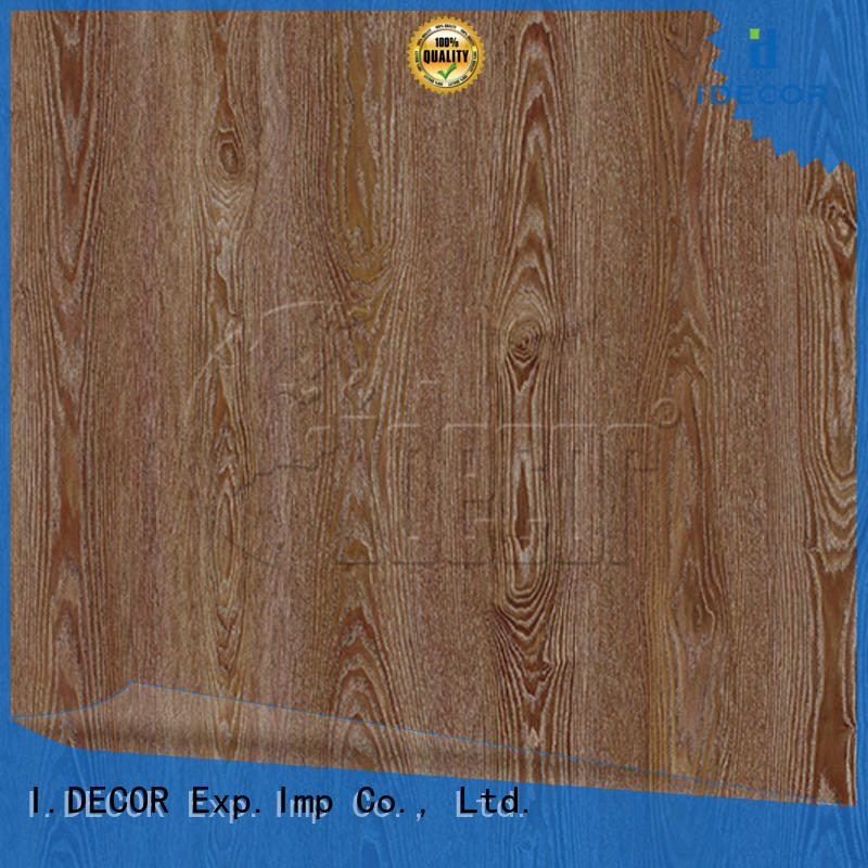 I.DECOR wood grain sticky paper series for master room