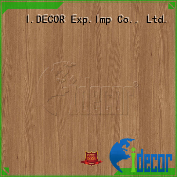 I.DECOR stable wood grain laminate paper directly sale for drawing room