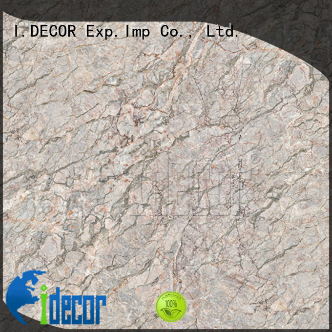 stone look paper customized for museum I.DECOR