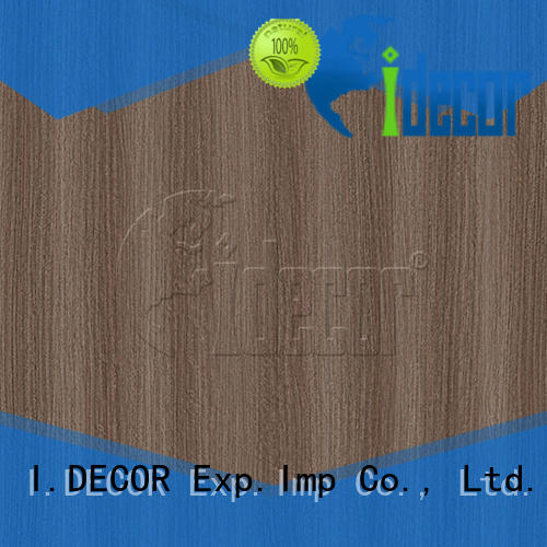 I.DECOR wood laminate paper from China for master room