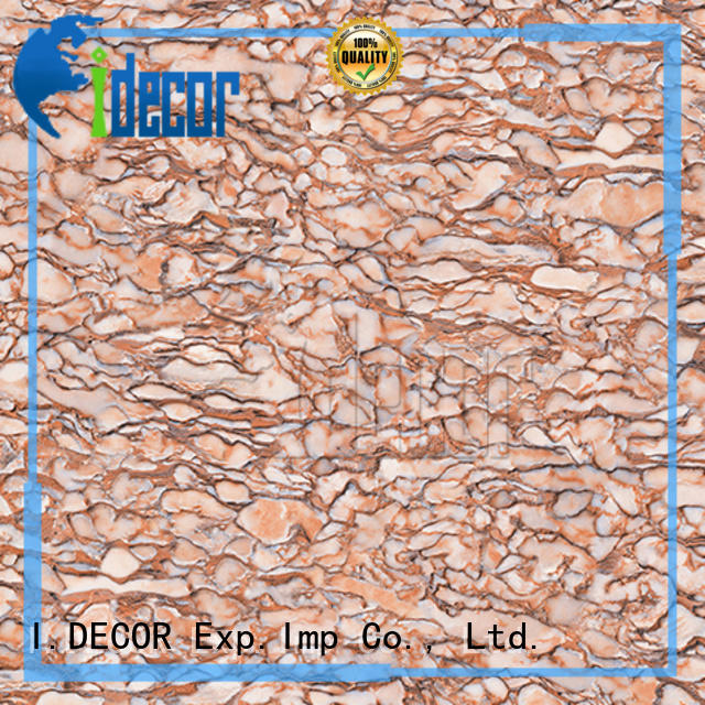 I.DECOR stone look paper from China for museum