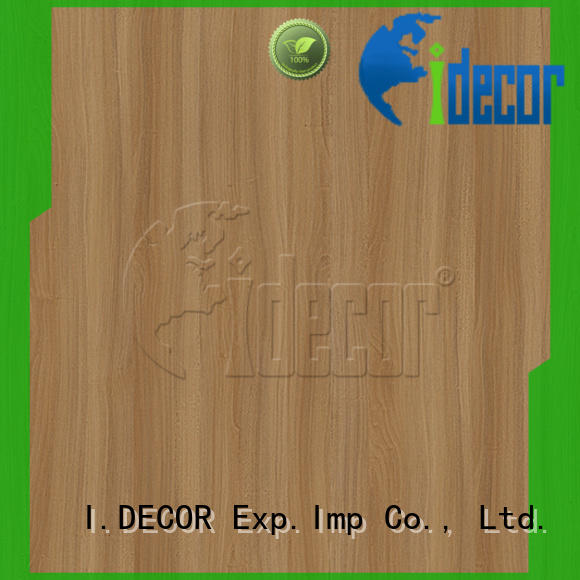 I.DECOR wood style paper from China for drawing room