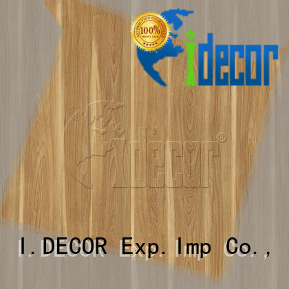 I.DECOR wood pattern paper series for drawing room