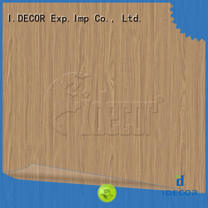 I.DECOR faux wood grain paper series for drawing room