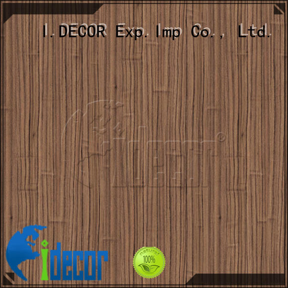 I.DECOR real wood laminate paper directly sale for master room