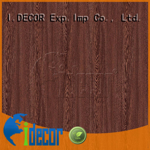 I.DECOR professional wood effect on paper from China for master room