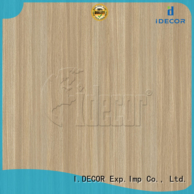 I.DECOR wood grain pattern paper directly sale for drawing room