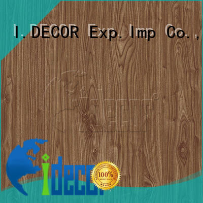 I.DECOR professional real wood paper from China for guest room