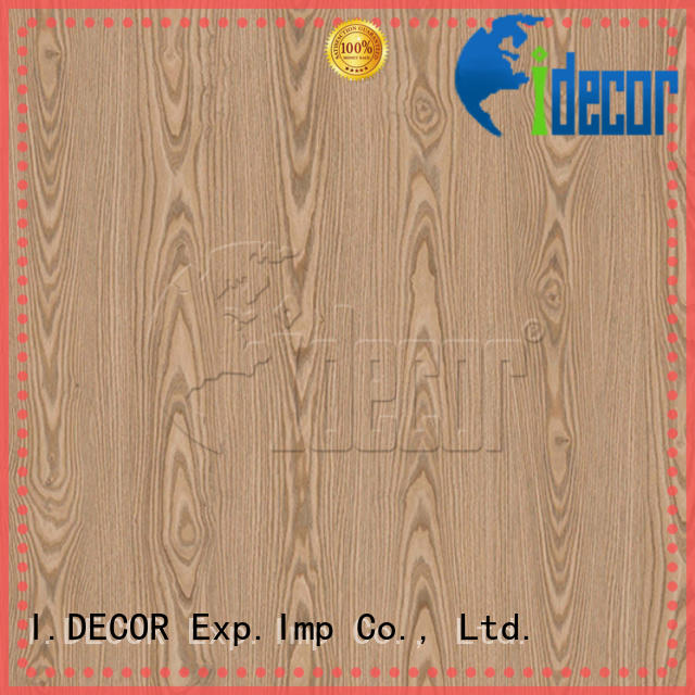 I.DECOR sturdy wood grain embossed paper directly sale for master room