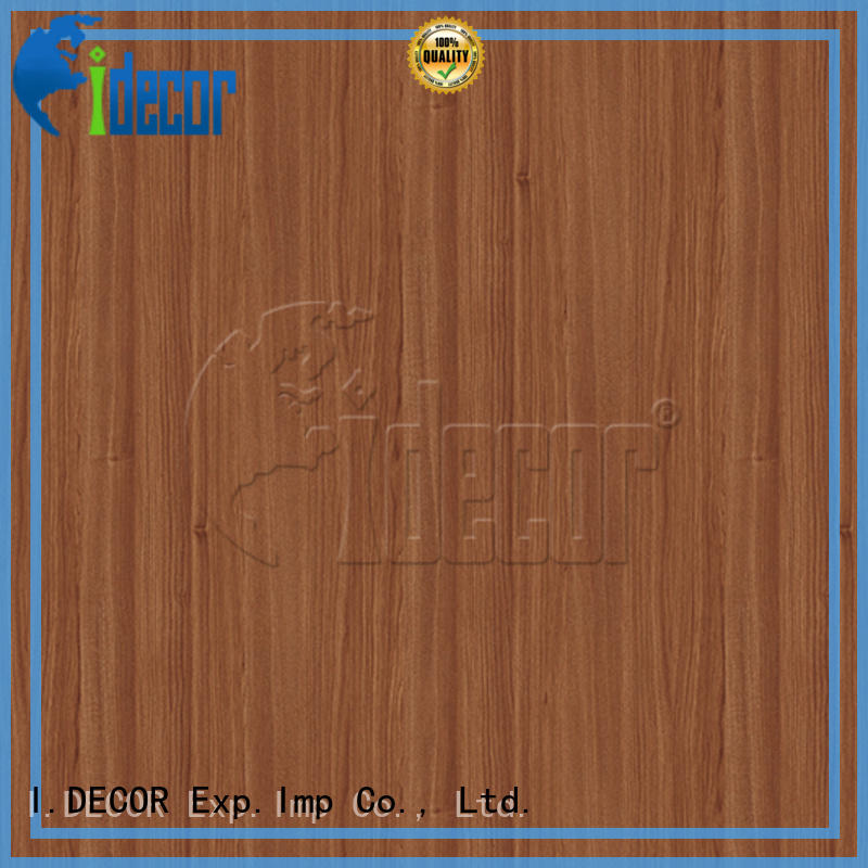 I.DECOR professional wood sticker paper directly sale for guest room