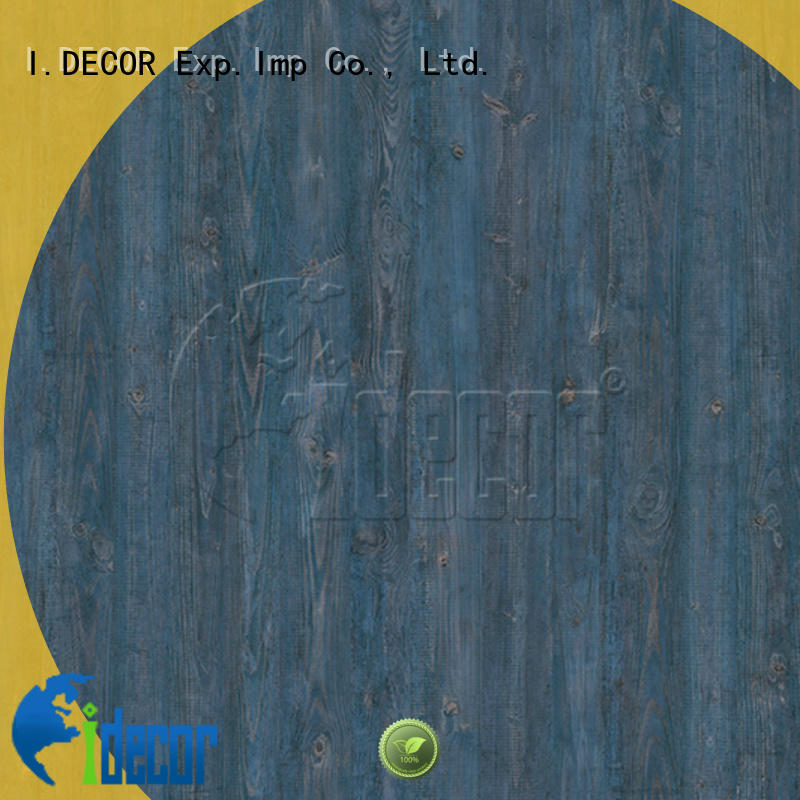 I.DECOR wood grain pattern paper customized for drawing room