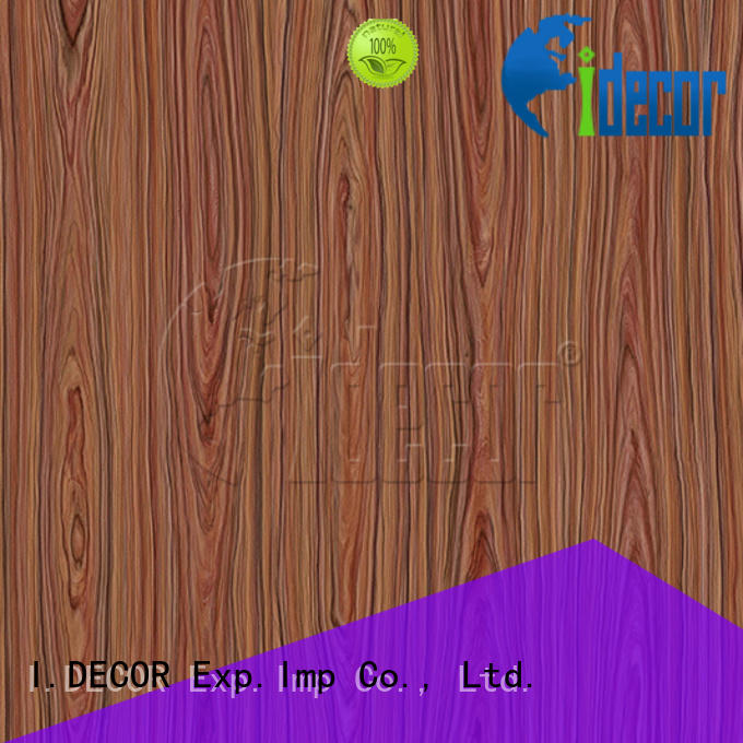 I.DECOR wood sticker paper directly sale for dining room