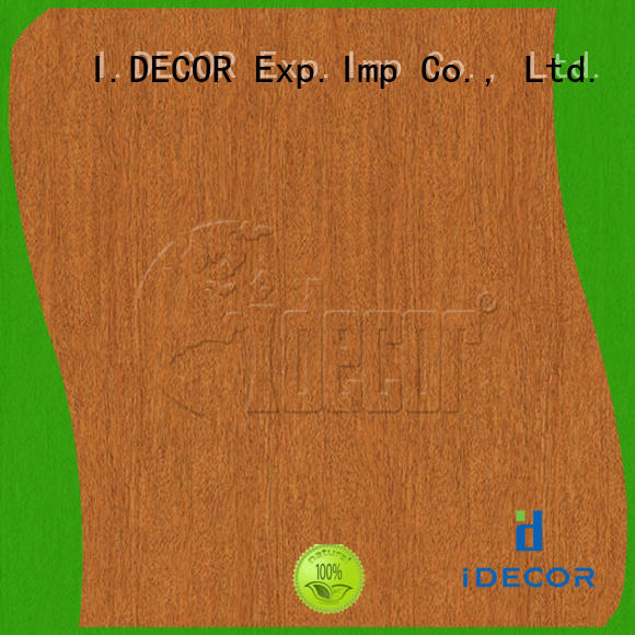 I.DECOR faux wood paper customized for study room