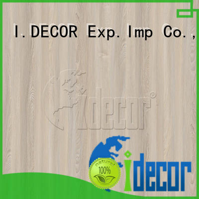 I.DECOR wood effect paper series for drawing room