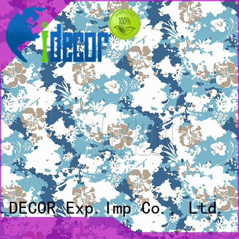 I.DECOR wood imitation paper series for guest room