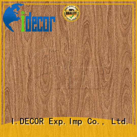 I.DECOR stable wood effect paper from China for study room