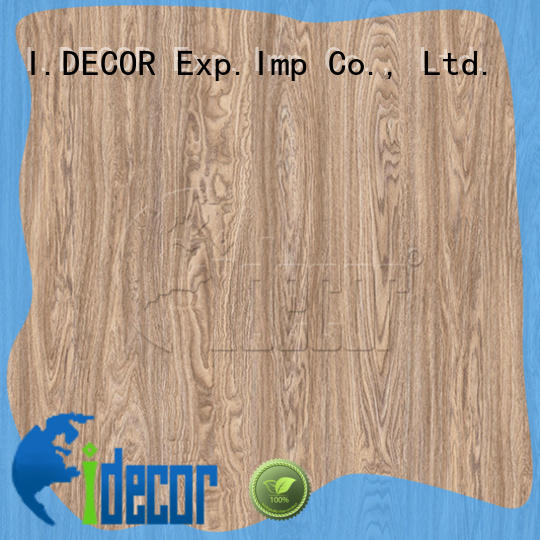 I.DECOR wood grain texture paper directly sale for guest room