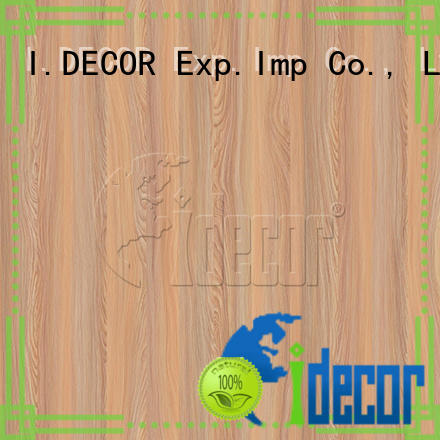 I.DECOR professional wood imitation paper from China for guest room