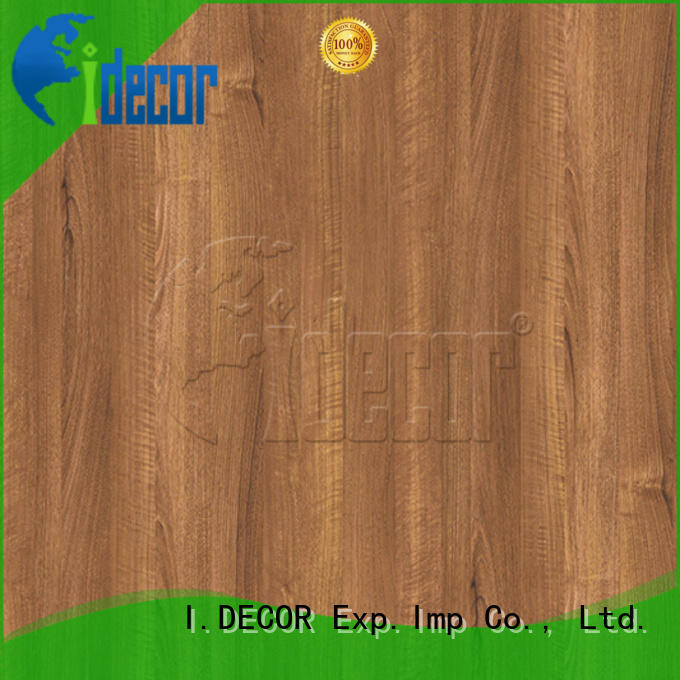 I.DECOR wood look paper from China for drawing room